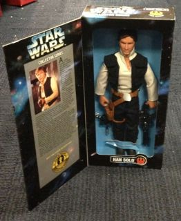 Han Solo 1996 Star Wars Collector Series Large 12 inch Figure SEALED