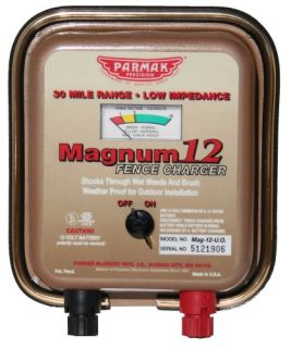 Parmak MAG12 UO 12 Volt Magnum Low Impedance Battery Operated 30 Mile