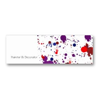 Bright Polka Dots Decorate This Business Card Customize