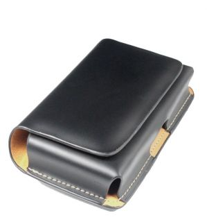 High Quality Refinement Leather Belt Clip Protector Case for iPhone 4G