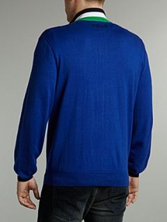 Polo Ralph Lauren Golf The open zip through sweater Royal