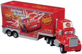 Tomy Tomica Disney Pixar Mack Ligthing McQueen Truck