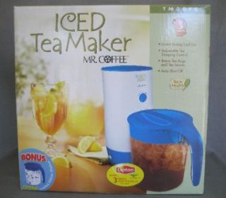 Mr Coffee 3 Quart Iced Tea Maker w Limited Edition Pitcher TM3OFS