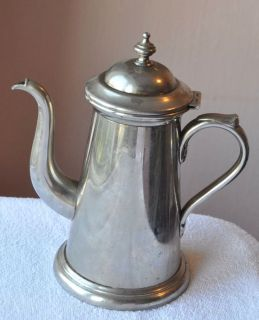 1920s Germany Beautiful Coffee Pot, made of Stainless Steel