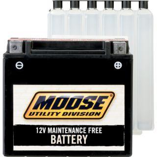83 86 YTM225DR Moose AGM Maintenance Free 12V Heavy Duty Battery