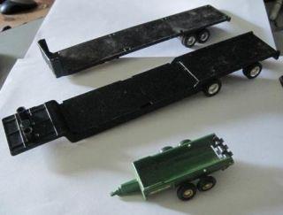 14 PC Toy Die Cast Trucks Trailers Ertl Tonka Maisto John Deere Metal
