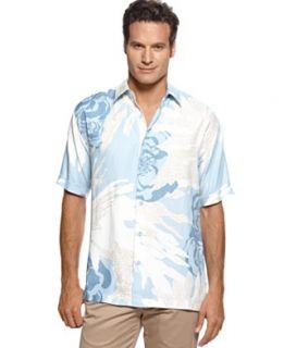 Cubavera Shirt, Floral Print Shirt