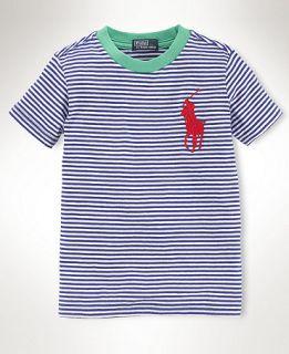 Ralph Lauren Kids T Shirt, Boys Big Pony Tee   Kids Boys 8 20