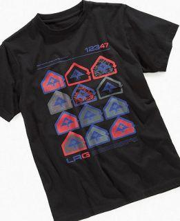 LRG Kids T Shirt, Boys Recurrence Tee   Kids Boys 8 20