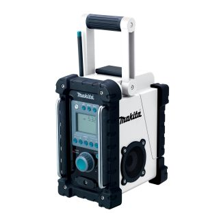 Makita BMR100W LXT 18V Cordless FM Am Job Site Radio with  Port New