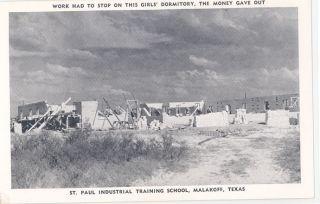 TX Malakoff St Paul Industrial Training School M37377