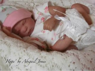 Edition 13 Preemie Baby Hope Complete Reborn Doll Kit Reborning
