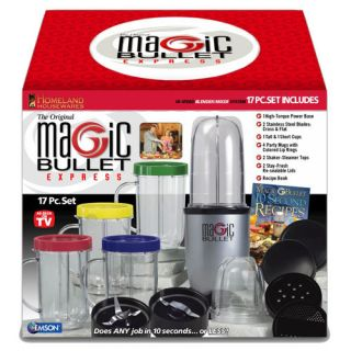 Magic Bullet Express 7712 17 Piece High Speed Blender Mixing System