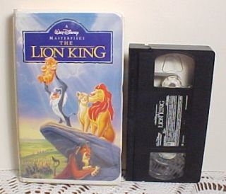 Lion King, Little Mermaid, Pinocchio, Toy Story, Tom and Jerry VHS