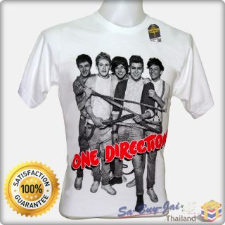 Shirt One Direction 1D V2 Boy Band Cute Pop RTO Vtg