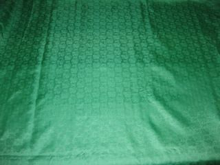 Pure Silk Brocade Fabric Sea Green Color Tone on Tone