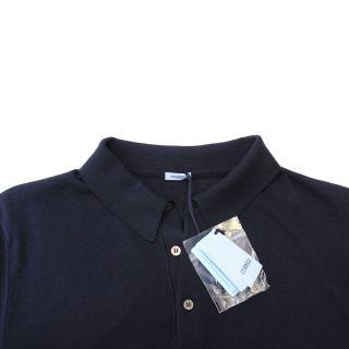 Malo Dark Blue Short Sleeve Polo Shirt US 3XL EU 58