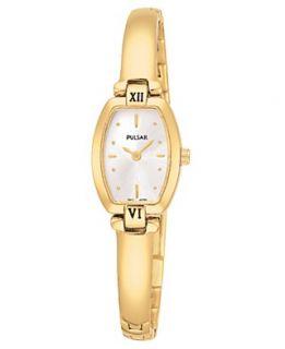 Pulsar Watch, Womens Gold Tone Stainless Steel Bracelet PEGA68