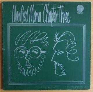 Manfred Mann Chapter Three Original UK Prog Psych Vertigo Swirl LP