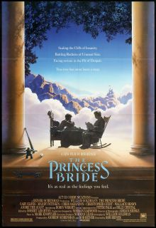 The Princess Bride 1987 Original U s One Sheet Movie Poster