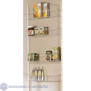 24 Wide 8 Shelf Kitchen Pantry Door Rack 220479