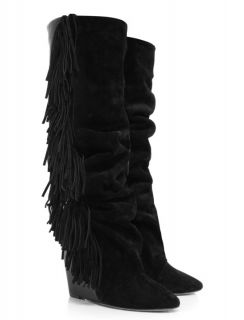 ISABEL MARANT Famous Fringed MANLY BOOTS * IT 39 / US 7.5   8 ~ SO