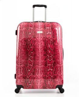 Jessica Simpson Suitcase, 24 Snake Rolling Hardside Expandable