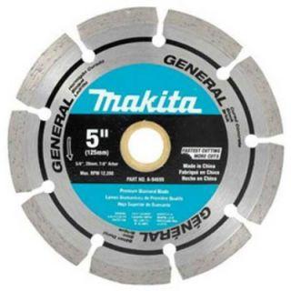 Makita A 94699 5 Diamond Blade Segmented General Purpose