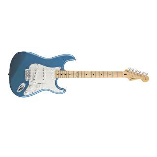 Stratocaster Guitar Maple Fingerboard Lake Placid Blue Open Box