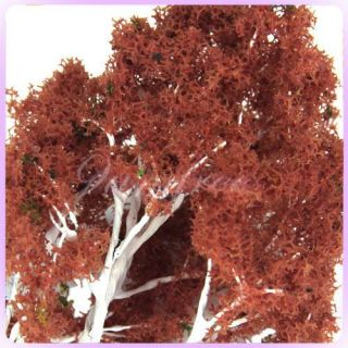 1x Red Model Japanese Maple Tree Park Making 1 50 Scale