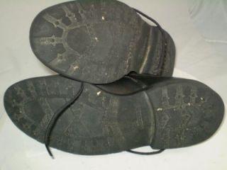 Allen Edmonds Oxford Mapleton Bicycle Toe Shoe Blucher Black Leather 8