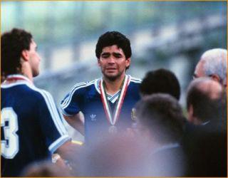 Argentina 1990 MARADONA Vintage EX Messi Retro Football Shirt s M L XL