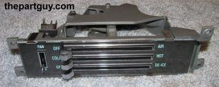 Chevelle El Camino Heater Control Non A C Malibu Monte Carlo