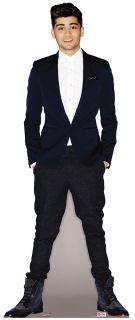 Malik, Zayn LIFESIZE CARDBOARD CUTOUT STANDEE STANDUP Pop Star Singer