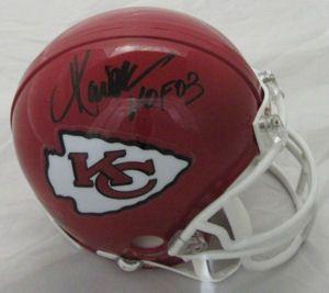 Marcus Allen Kansas City Chiefs Autographed Signed Mini Helmet HOF 03