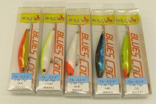 Maria Blues Code C 60 Freshwater Sinking Pencil Fishing Bait 60mm 7g