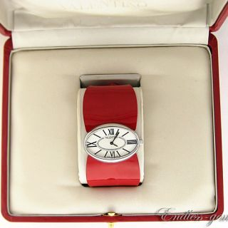 Valentino Seduction Collection Ladies Watch Red Silver Tone Swiss
