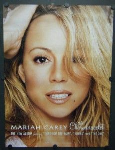 Mariah Carey Promo Poster Charmbracelet 2002 The One Through The Rain