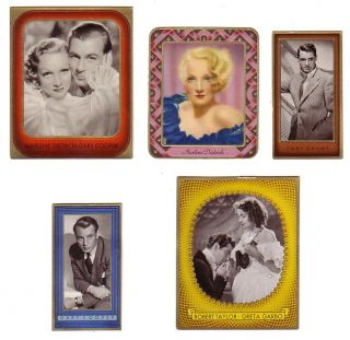 Marlene Dietrich Greta Garbo Gary Cooper Cary Grant Robert Taylor 5