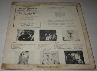 La Cucaracha Maria Felix Antonio Aguilar Mexican LP OST Mariachi Los
