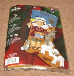 Plaid Bucilla Drummer Boy Felt Stocking Kit 18 New in Package 85315