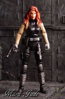 Star Wars Custom Mara Jade Skywalker Action Figure