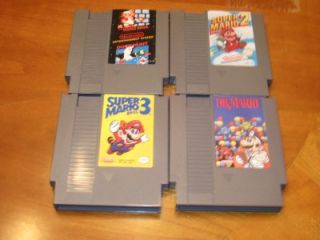 NES Nintendo Games Super Mario Bros. 1, 2, 3, & Dr. Mario + Duck Hunt
