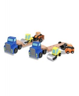 Melissa and Doug Baby Toys, Baby Low Loader Trucks