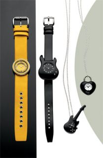 Marc by Marc Jacobs Womens Black Guitar Watch