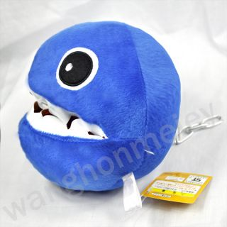 Super Mario Bros Chain Chomp 8 Plush Toy Doll M35 Blue