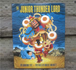 Junior Thunder Lord Laurence Yep 1st DJ Signed New