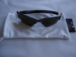 New Oakley Half Jacket Sunglasses Grey Frame Bronze Lenses EX Display