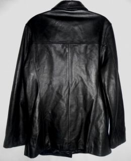 This is a Marc New York by Andrew Marc leather jacket . Comes with 4