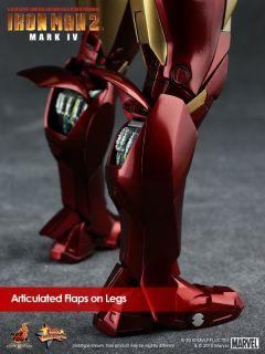 Hot Toys Ironman 2 Mark IV 4 Tony Stark Donut Ready